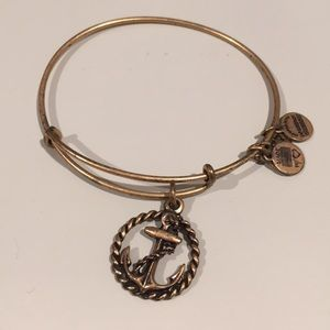 Alex and Ani anchor bracelet
